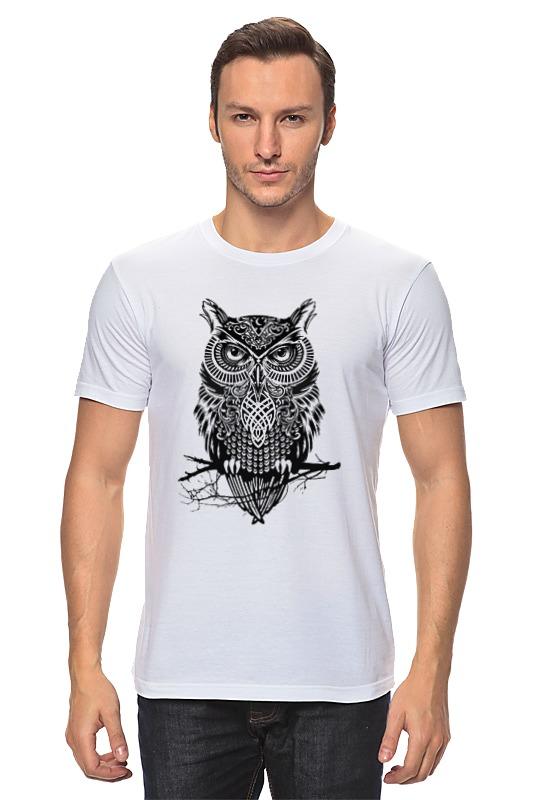 Футболка классическая Printio Оld owl owl shape 7 colors change 3d touch night light