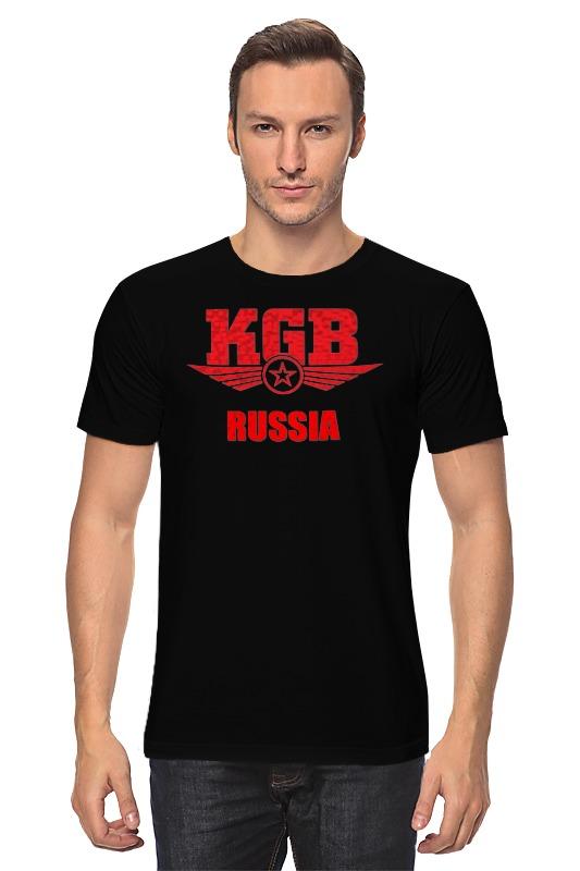 Футболка классическая Printio Kgb russia блокнот printio kgb russia