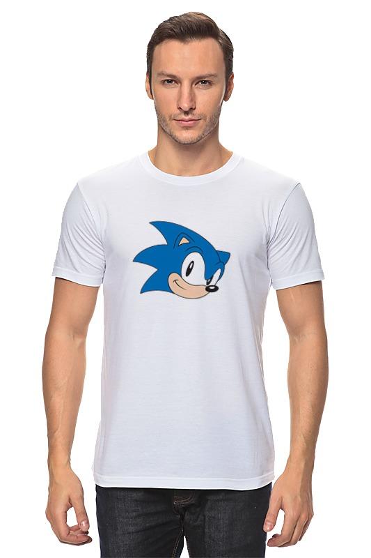 Футболка классическая Printio Sonic hedgehog head футболка классическая printio sonic dance