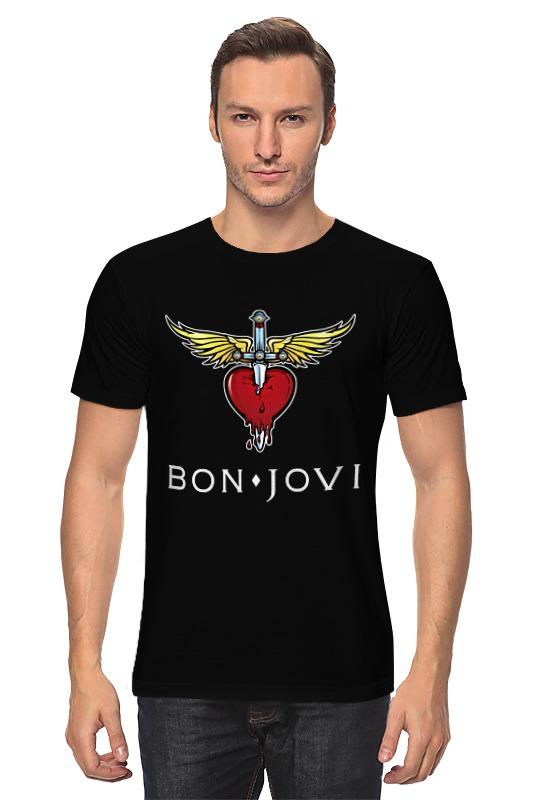 Футболка классическая Printio Bon jovi торрес д моуриньо особенный