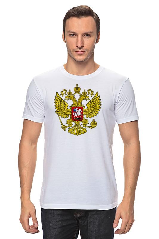 Футболка классическая Printio Russian federation