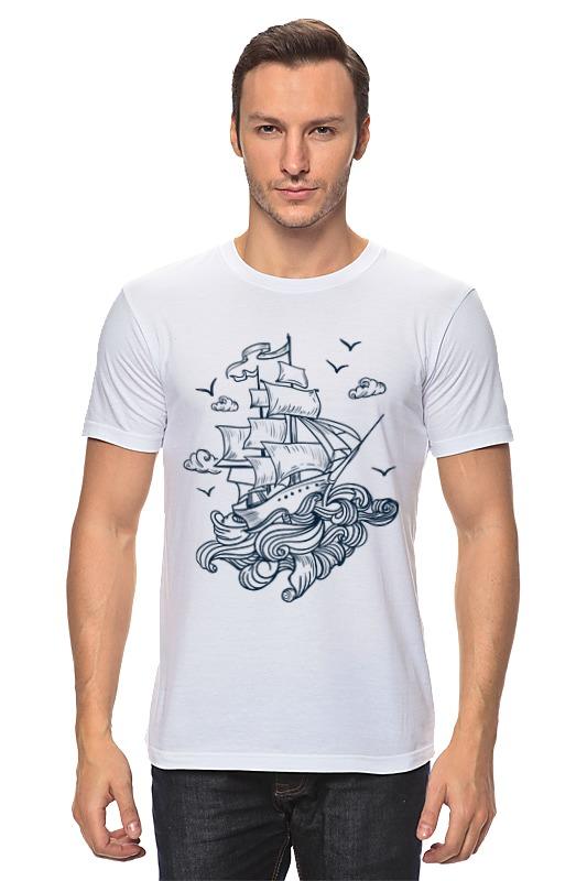 Футболка классическая Printio Летучий голландец футболка wearcraft premium slim fit printio летучий голландец