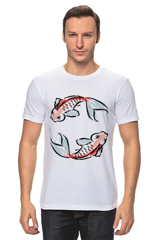 Футболка классическая Printio Знак зодиака рыбы сумка printio знак зодиака рыбы