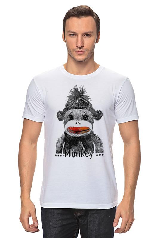 Футболка классическая Printio Monkey 2016 - обезьянка 2016 monkey business футболка