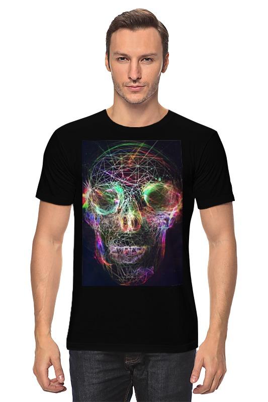 Футболка классическая Printio Skull - 17 fashionable punk style skull pendant necklace