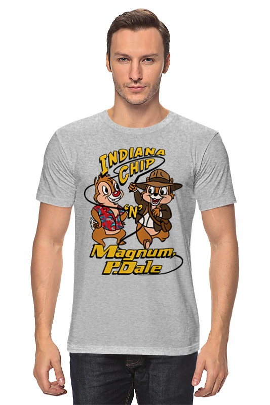 Футболка классическая Printio Indiana jones x chip 'n' dale indiana jones and the sky pirates page 8
