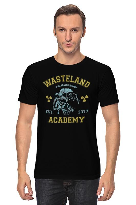Футболка классическая Printio Fallout. wasteland academy футболка классическая printio fallout фэллаут