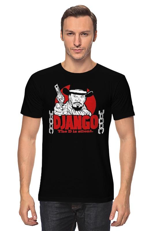 Футболка классическая Printio Джанго (django) футболка с полной запечаткой для мальчиков printio джанго django