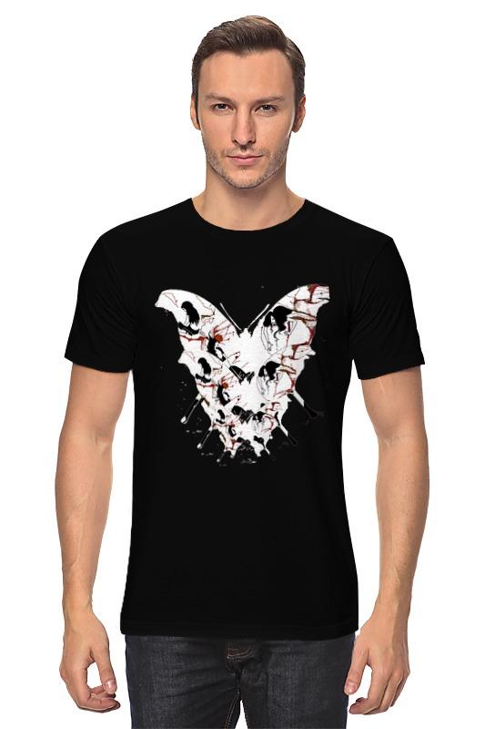 Футболка классическая Printio Бабочка ангела смерти футболка wearcraft premium printio бабочка ангела смерти