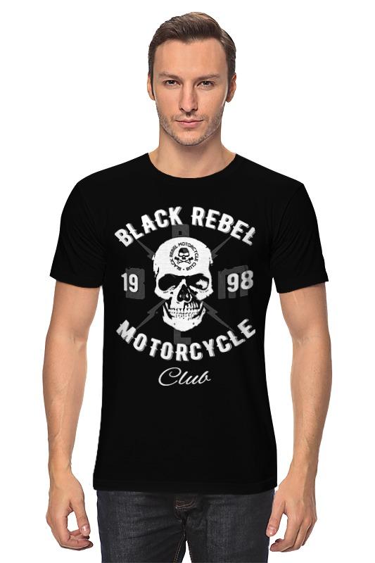 Футболка классическая Printio Black rebel motorcycle club