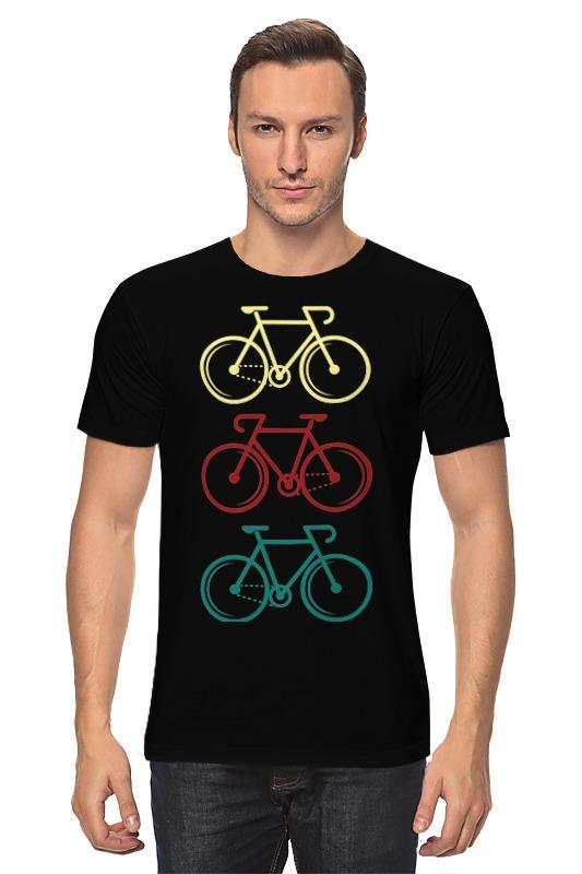 купить Футболка классическая Printio Велосипеды недорого