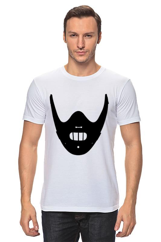Футболка классическая Printio Ганнибал лектер (hannibal lectеr) hannibal футболка