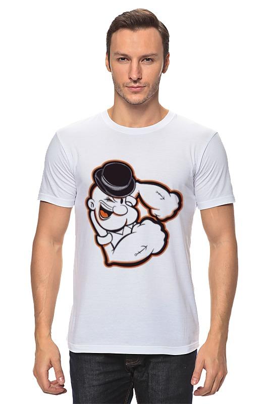Футболка классическая Printio Моряк папай футболка стрэйч printio моряк папай