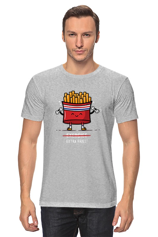 Футболка классическая Printio Картошка фри футболка wearcraft premium printio картошка