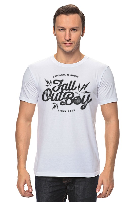Футболка классическая Printio Fall out boy худи print bar fall out boy
