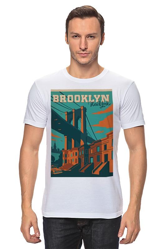 Футболка классическая Printio Brooklyn found in brooklyn