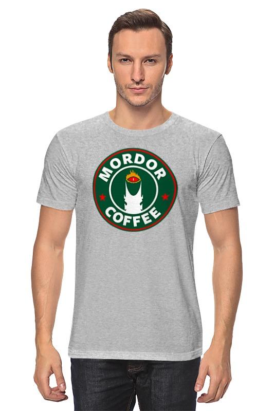 Футболка классическая Printio Mordor coffee поло print bar shadow of mordor