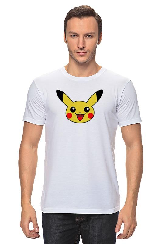 Футболка классическая Printio Pokemon go pika блокнот printio pokemon go
