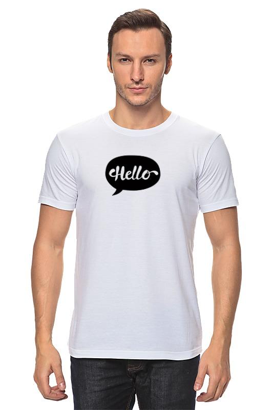 Футболка классическая Printio Облако мыслей - hello футболка классическая printio облако и радуга
