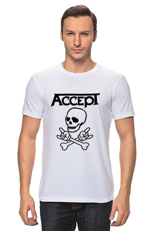 Футболка классическая Printio Accept accept belém