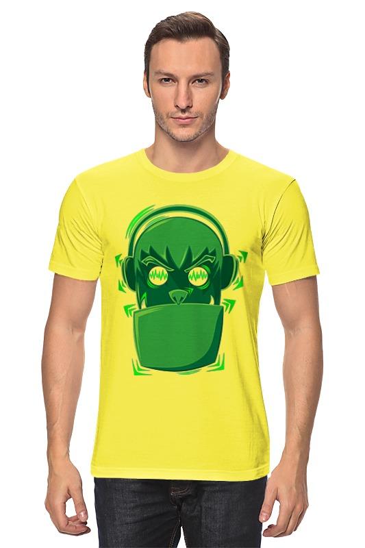 Футболка классическая Printio Меломан футболка классическая printio меломан