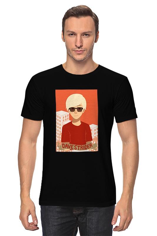 Футболка классическая Printio Дэйв страйдер homestuck футболка wearcraft premium slim fit printio дэйв страйдер homestuck