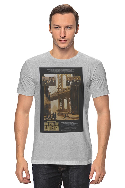 Футболка классическая Printio Once upon a time in america / однажды в америке футболка wearcraft premium slim fit printio once upon a time in america однажды в америке