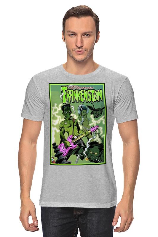 Футболка классическая Printio Frankenstein rocker gris grimly s frankenstein