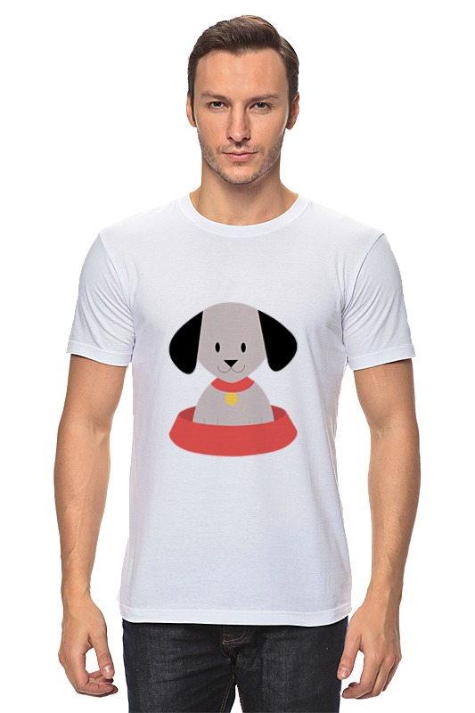 Футболка классическая Printio Щенок футболка мужская senleis sls t1616 2015 1616