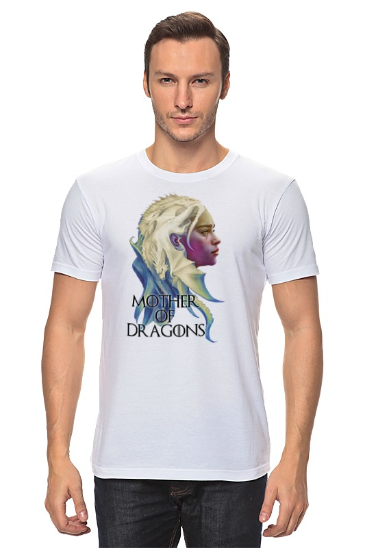 Футболка классическая Printio Mother of dragons the norton anthology of american literature 6e v e