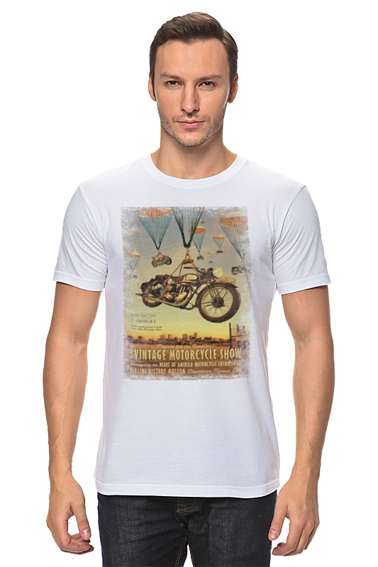 Футболка классическая Printio Vintage motorcycle show