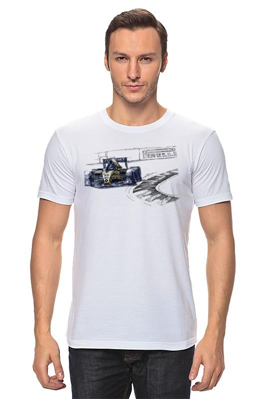 Футболка классическая Printio Formula 1 футболка formula joven formula joven mp002xw1b0pp