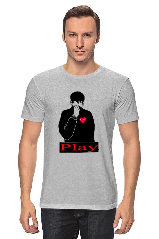 Футболка классическая Printio Play) майка классическая printio play