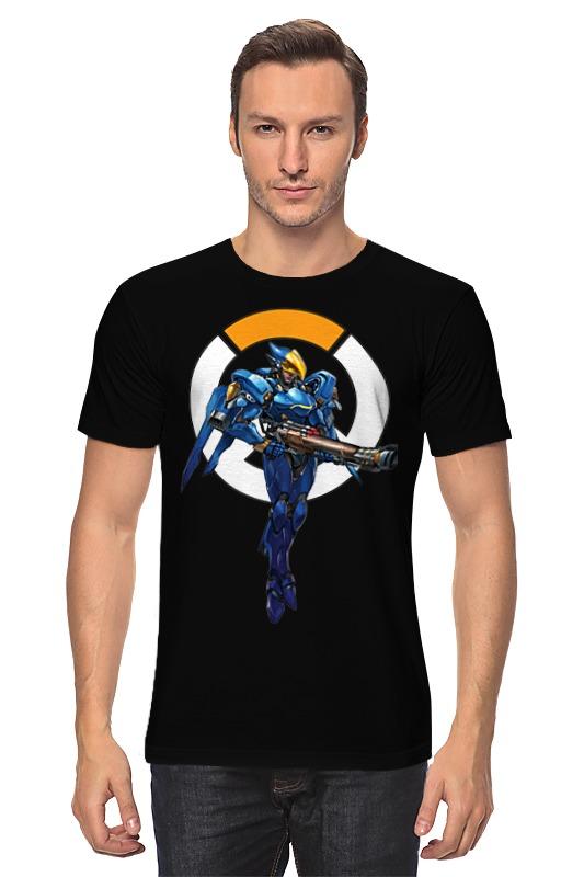 Футболка классическая Printio Pharah overwatch / фарра овервотч футболка wearcraft premium slim fit printio pharah overwatch фарра овервотч