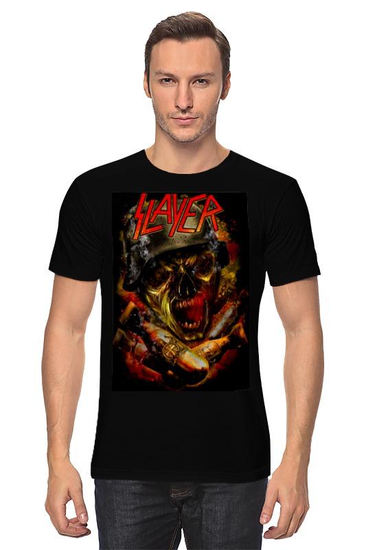 Футболка классическая Printio slayer thrash metal band майка классическая printio slayer season in the abyss 1990