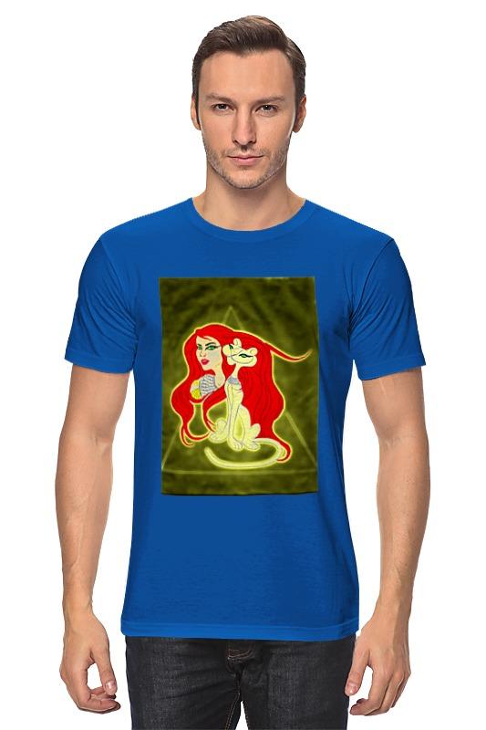 Футболка классическая Printio Бастет-богиня любви футболка wearcraft premium slim fit printio бастет богиня любви