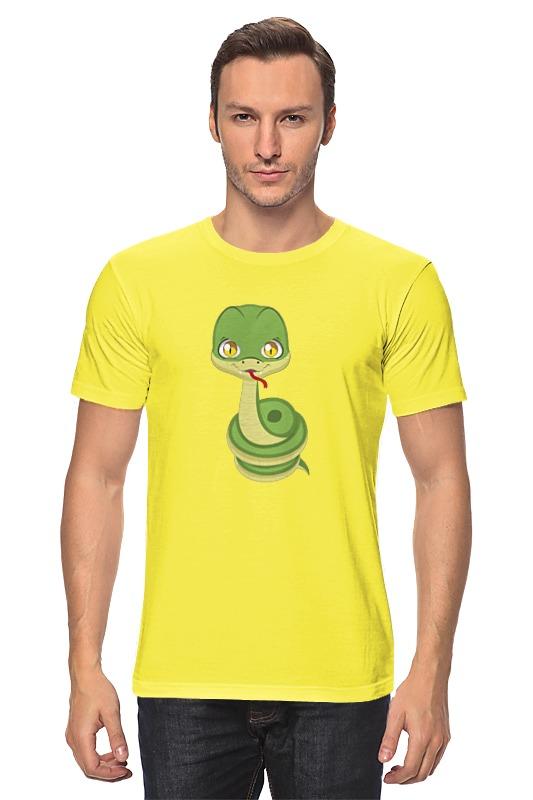 Футболка классическая Printio Змея. майка классическая printio змея