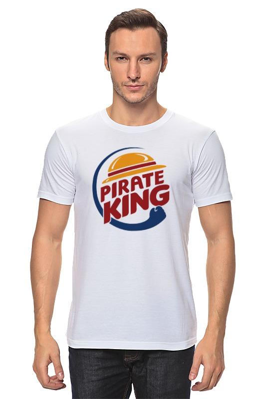 Футболка классическая Printio Король пиратов (соломенная шляпа) plus size hawaiian printed one piece bathing suit