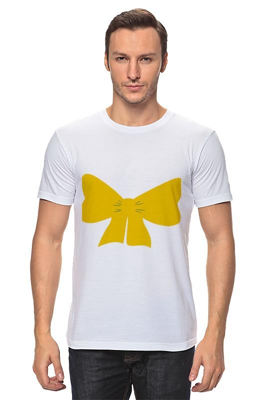 Футболка классическая Printio Желтый бант платье lavela цвет белый желтый