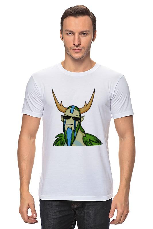 Printio Nature's prophet футболка классическая printio disruptor dota 2