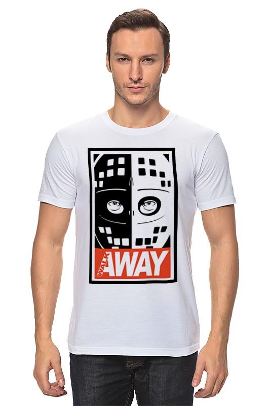 Футболка классическая Printio Walk away (mad max) walk of shame пиджак