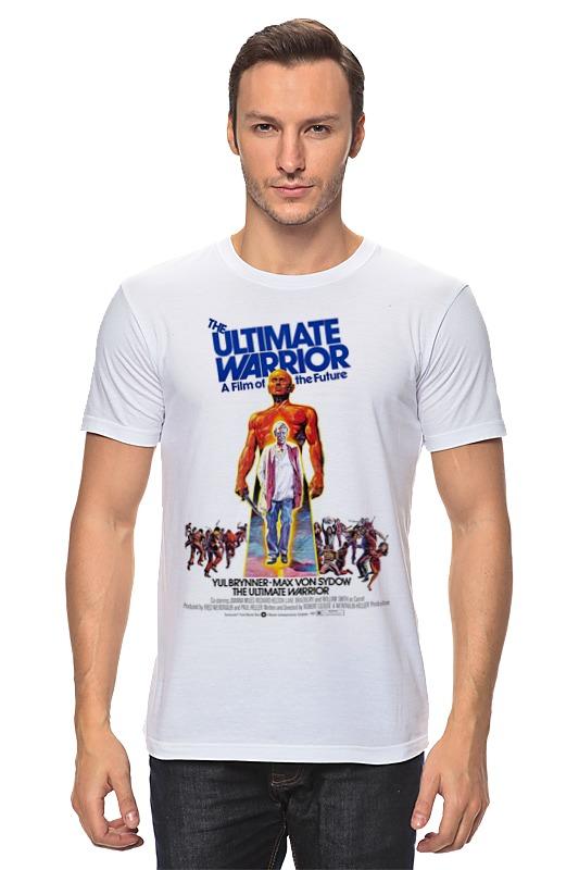 Футболка классическая Printio Последний воин / ultimate warrior кино последний герой lp