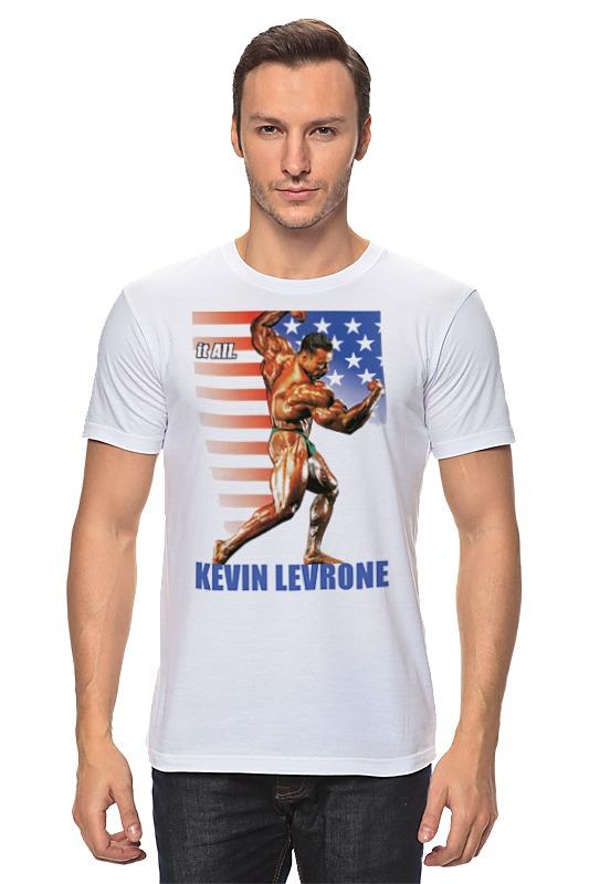 Футболка классическая Printio Kevin levrone / кевин леврон kevin beaver hacking for dummies