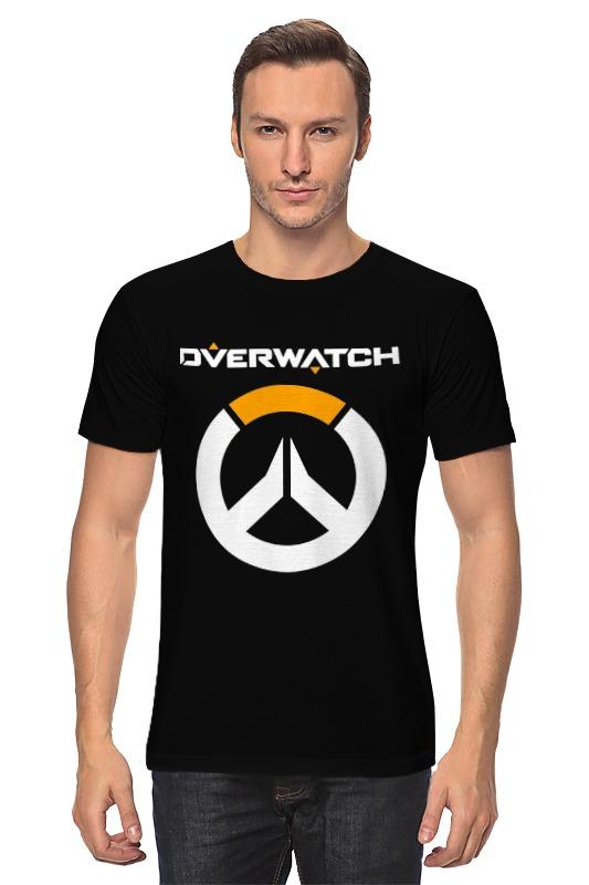 Футболка классическая Printio Overwatch футболка классическая printio overwatch уинстон