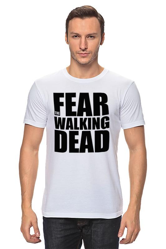 Футболка классическая Printio Fear the walking dead худи print bar the walking dead