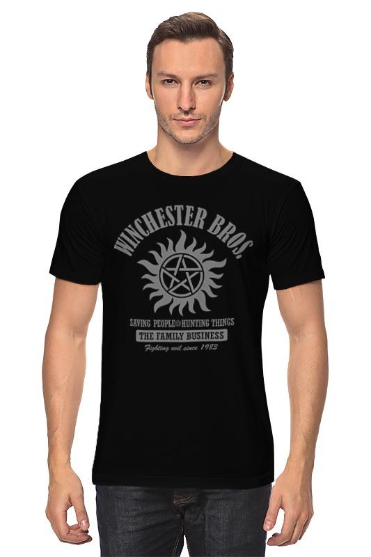 Футболка классическая Printio Сверхъестественное футболка классическая printio сэм винчестер