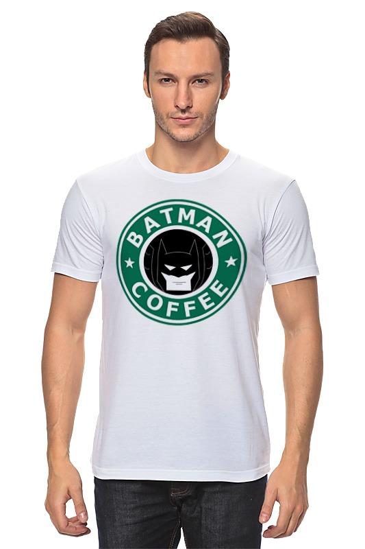 Футболка классическая Printio Batman coffee cutting sliced toast mold white coffee