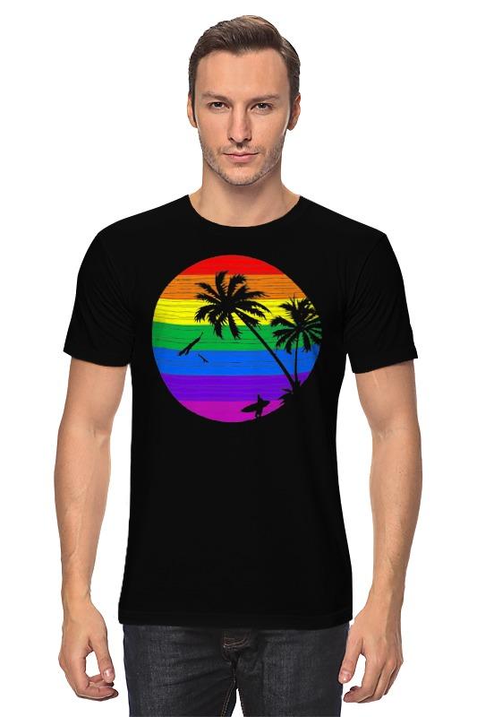 Футболка классическая Printio Радужное солнце футболка классическая printio радужное солнце