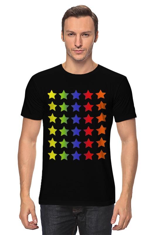 Футболка классическая Printio Яркие звезды rubis пинцет классик шесть звезд