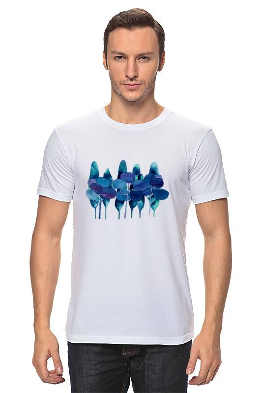 Футболка классическая Printio Чернильный лес футболка классическая printio чернильный лес